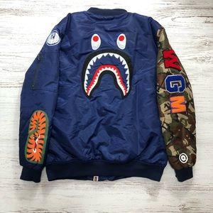 A bathing ape bomber jacket